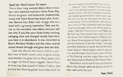 Blues in Britain magazine review